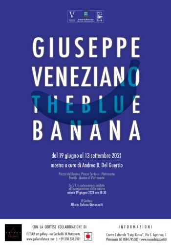 THE BLUE BANANA di Giuseppe Veneziano