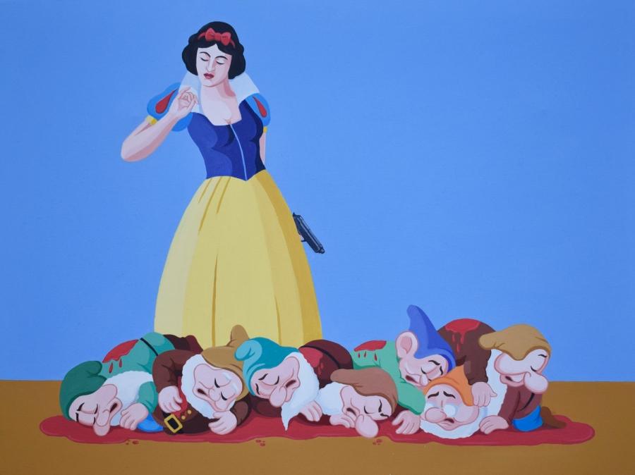 La Strage degli Innocenti - Giuseppe Veneziano