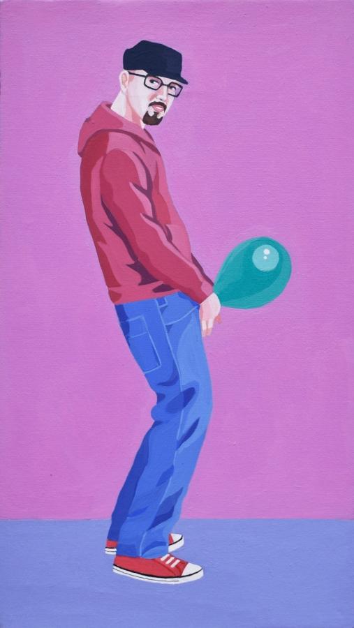 Self Portrait - Giuseppe Veneziano