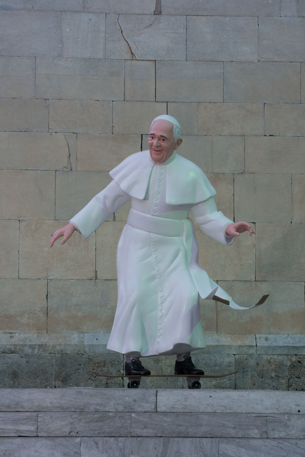 Skate Pope