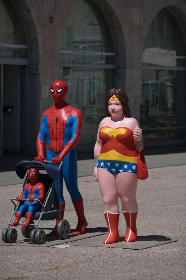 Spiderdad & Wonderwoman Curvy