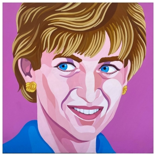 Lady Diana - Giuseppe Veneziano