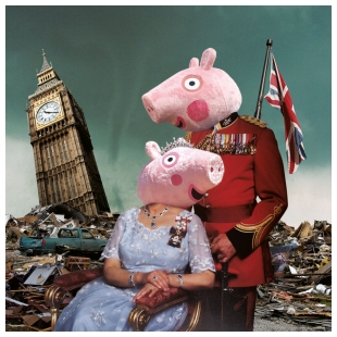 God Save the Pig - Max Papeschi